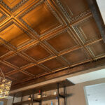 Cambridge faux tin ceiling tile 24 in x 24 in dct 06 1