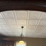 Romanesque wreath glue up styrofoam ceiling tile 20 in x 20 in r 47 1