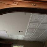 Romanesque wreath glue up styrofoam ceiling tile 20 in x 20 in r 47 3