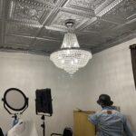 La scala faux tin ceiling tile 24 in x 24 in 223