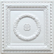 Laurel Wreath - Faux Tin Ceiling Tile - #210