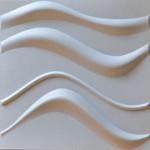 3D Wall Panels - Bamboo Pulp - #55