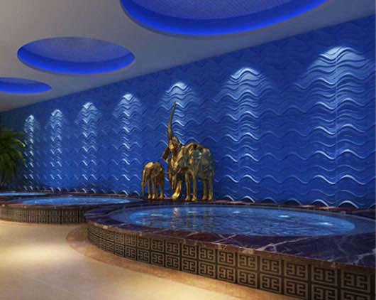 3D Wall Panels – Bamboo Pulp – #55