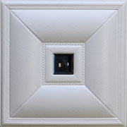 Contemporary Cabana - Faux Leather Ceiling Tile - #DCT LRT20