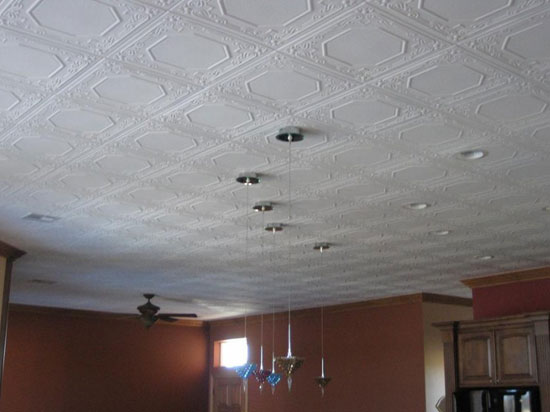 Topkapi Palace – Styrofoam Ceiling Tile – 20″x20″ – #R32c