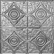 "Harry's Scrollwork - Tin Ceiling Tile - 24""x24"" - #1219"