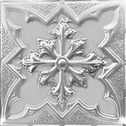 "Large Snowflake - Aluminum Ceiling Tile - 24""x24"" - #2452"