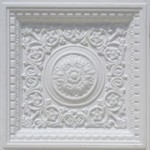 "Rhine Valley - Faux Tin Ceiling Tiles - Drop In - 24""x24"" - #VC 02"