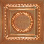"Romanesque Medallion - Copper - 24""x24"" - #2407"