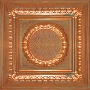 "Romanesque Medallion - Copper - 24""x24"" - #2407"