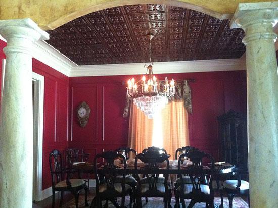 Le Chateau – Faux Tin Ceiling Tile – Glue up – 24″x24″ – #130