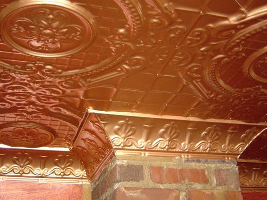 English Garden – Tin Ceiling Tile – #2409