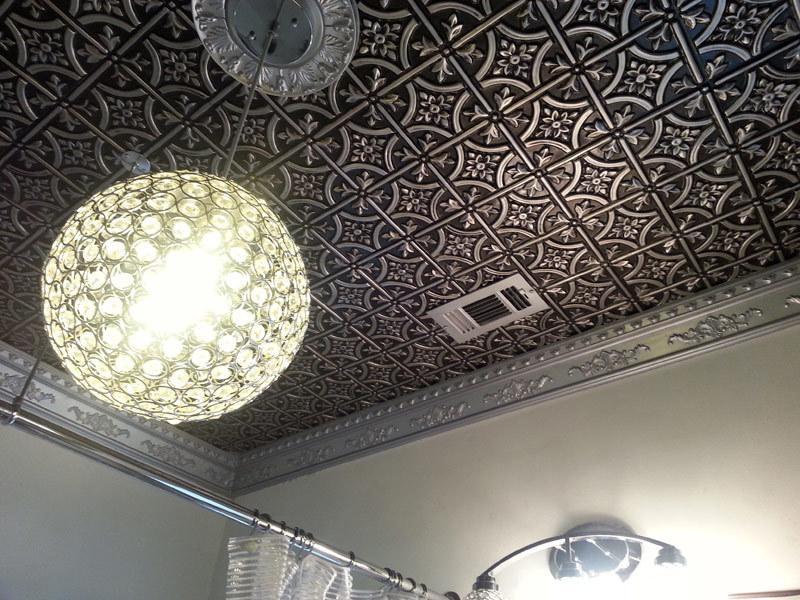 Gothic Reims - Faux Tin Ceiling Tile - Glue up - 24″x24 ...