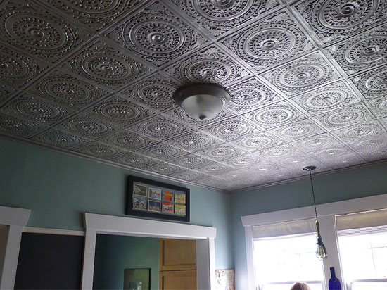 Alhambra Faux Tin Ceiling Tile 24 X24 217