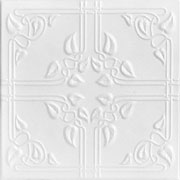 "Ivy Leaves - Styrofoam Ceiling Tile - 20""x20"" - #R37"