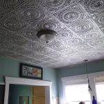 "Grandma's Doilies Quartet - Faux Tin Ceiling Tile - Glue up - 24""x24"" - #117"