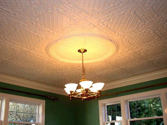 Casa Milano – Tin Ceiling Tile – 24″x24″ – #2412