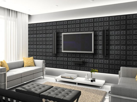 Diamonds in The Sky – Faux Leather Ceiling Tile – #DCT LRT19