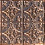 Queen Victoria - Copper Ceiling Tile - #1204