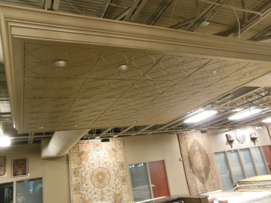 Retail store page 3 dct gallery for Decorative ceilings