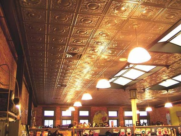 Palladium Dome – Tin Ceiling Tile – #2437
