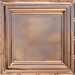 "Union Square - Copper Ceiling Tile - 24""x24"" - #2429"