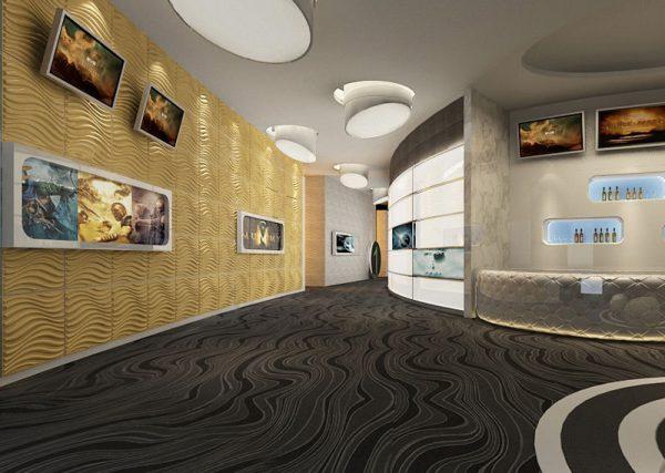3D Wall Panels – Bamboo Pulp – #77