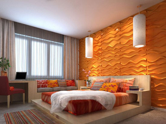 3D Wall Panels – Bamboo Pulp – #79