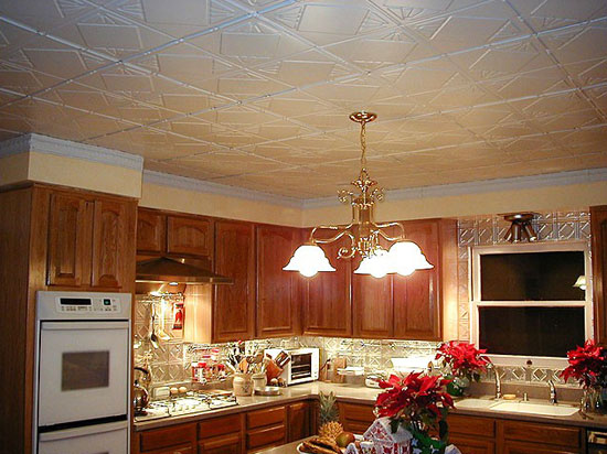 Checkered Past – Aluminum Ceiling Tile – 24″x24″ – #1216
