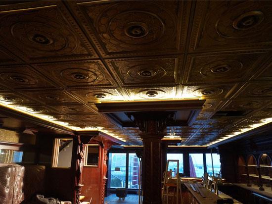 Downtown – Faux Tin Ceiling Tile – 24″x24″ – #221