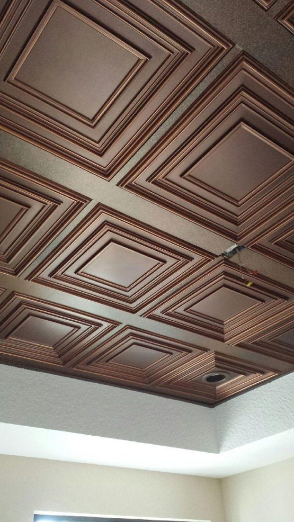 Schoolhouse – Faux Tin Ceiling Tile – 222 – DCT Gallery