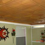 "Pyramid Illusion - Styrofoam Ceiling Tile - 20""x20"" - #R06"