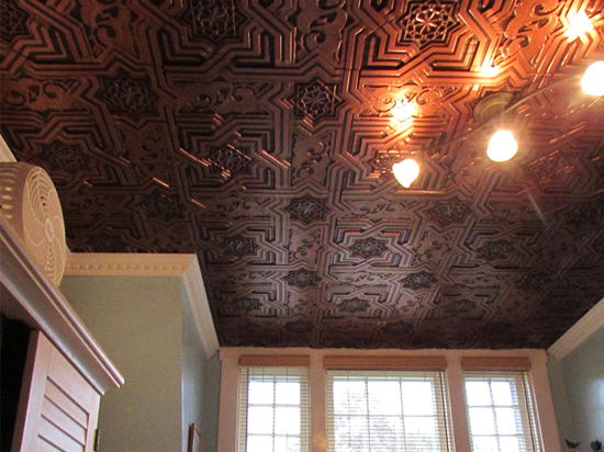 Bollywood – Faux Tin Ceiling Tiles – Glue up – 24″x24″ – VC #03