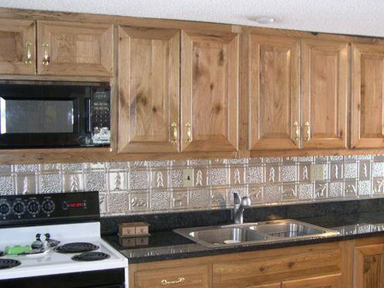 Gwen's Cabin – Aluminum Backsplash Tile – #0512