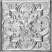 "Tuscan Glory - Tin Ceiling Tile - 24""x24"" - #2438"