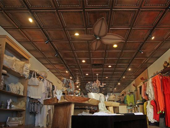 Cambridge – Faux Tin Ceiling Tile – 24″x24″ – #DCT 06