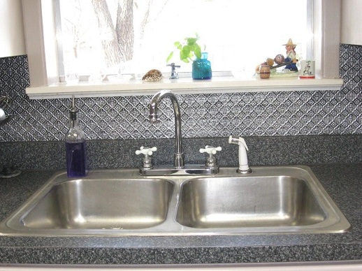 1 1/4u2033 Pattern U2013 Faux Tin Backsplash Roll ...