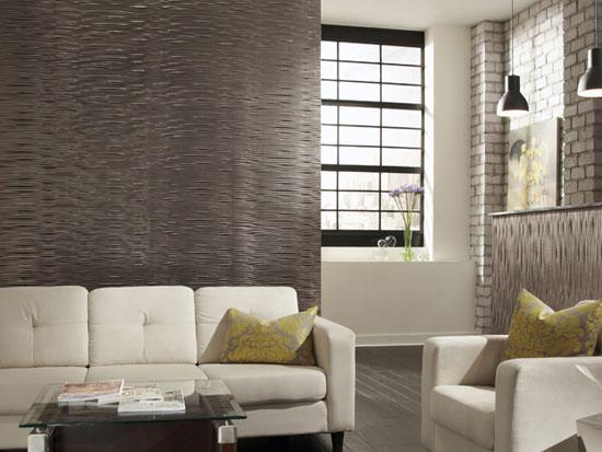 Gobi Horizontal MirroFlex 4×8 / 4×10 Glue Up PVC Wall Panels