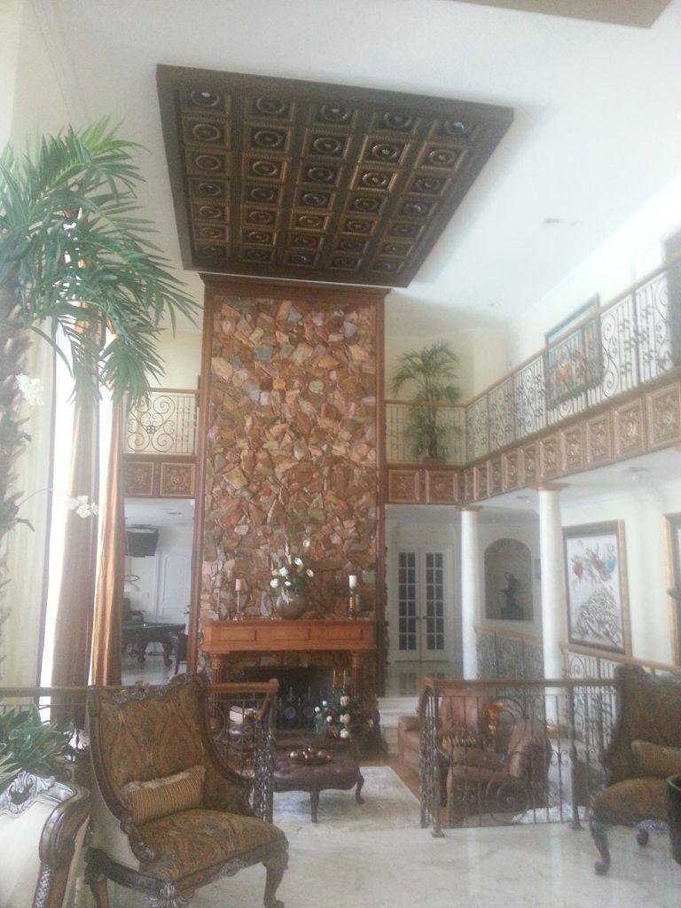 Laurel Wreath Faux Tin Ceiling Tile 210 Dct Gallery