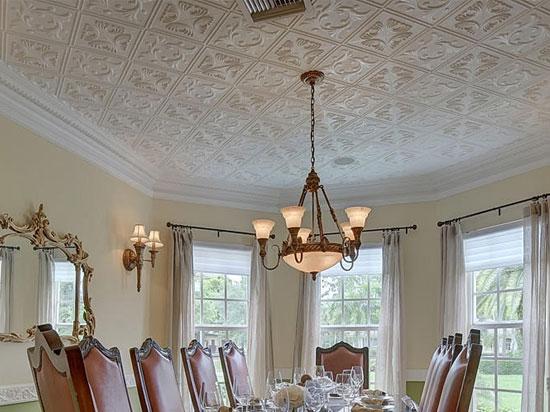 Polystyrene Ceiling Tiles : Diamond wreath styrofoam ceiling tile ″x ″ r