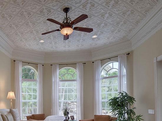 Diamond Wreath Styrofoam Ceiling Tile 20 X20 R02