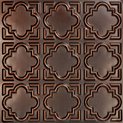 "Casablanca - Faux Tin Ceiling Tile - Glue up - 24""x24"" - #142"