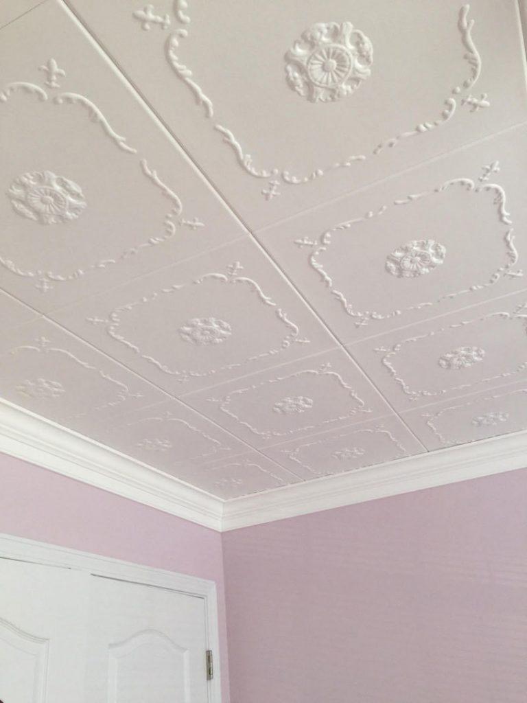Bourbon Street Styrofoam Ceiling Tile 20 X20 R43