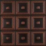 "Dogwood - Faux Tin Ceiling Tile - Glue up - 24""x24"" - #239"