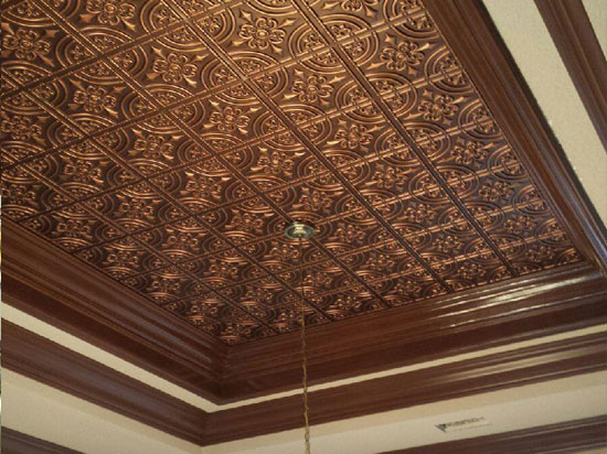 canada ceiling affordable decorative by tiles solid makeovers in medallion copper carden aged romanesque tile kitchen