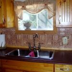 Gwen's Cabin - Aluminum Backsplash Tile - #0512