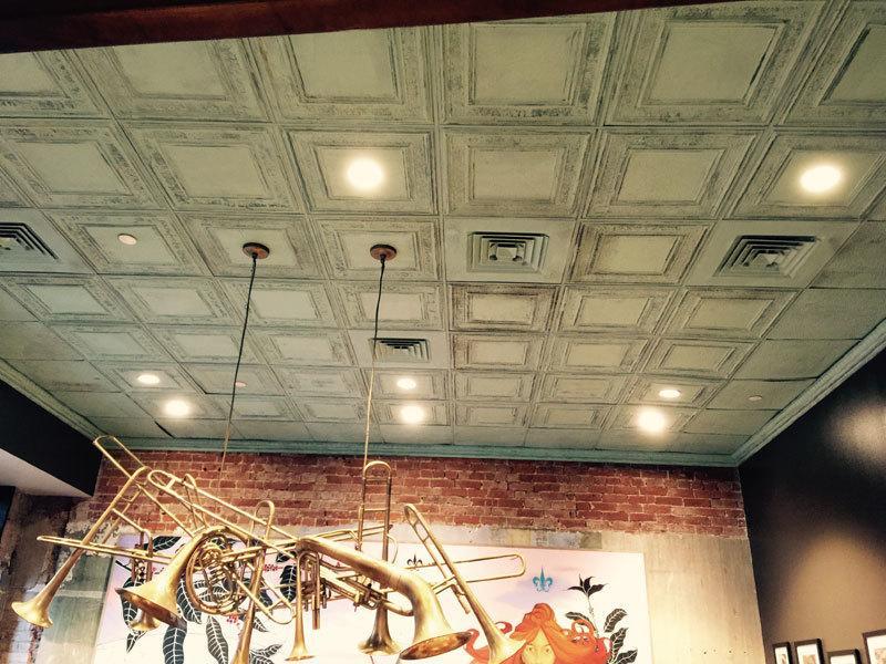 Polystyrene ceiling tiles asbestos