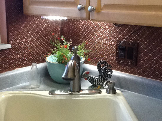 pattern faux tin backsplash roll wc 20