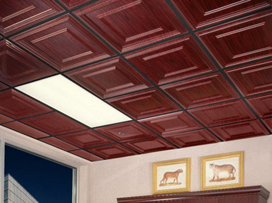 Raised Panel Coffer – MirroFlex – Ceiling Tiles Pack