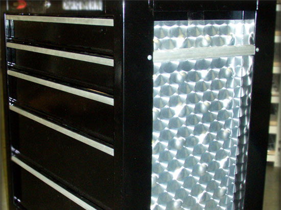 Real Stainless Steel Laminate – NuMetal – #299 ROS